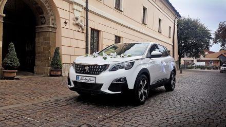SUV Peugeot 3008 biały 2018r. - Kraków - małopolskie