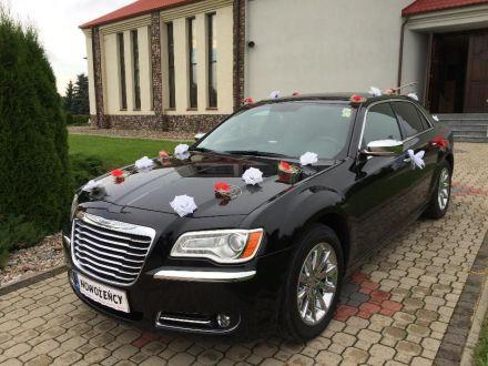 Luksusowe auto na ślub, na wesele Chrysler 300 nowy model - Sulejówek - mazowieckie
