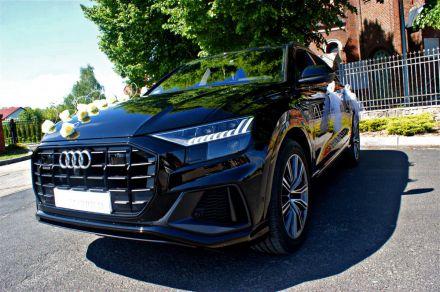 Auto do ślubu AUDI Q8 - Konin - wielkopolskie
