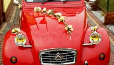 Samochód do ślubu Citroen 2CV  -  Lędziny  -  śląskie