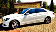 Mercedes E klasa Biały luksusowa limuzyna dla wymagających  -  Rogoźno  -  wielkopolskie