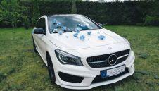 Samochód Auto do ślubu MERCEDES CLA 250, biały, Luksus w dobrej cenie  -  Szczecinek  -  zachodniopomorskie