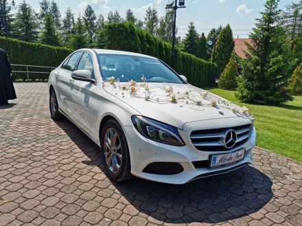 Biały Mercedes - Tarnów - małopolskie