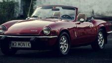 Kabriolet czerwony Triumph Spitfire  -  Warszawa  -  mazowieckie
