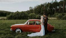 Klasyczne auto do ślubu - VW Typ 3 Fastback  -  Gdańsk  -  pomorskie