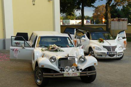 Samochody do ślubu Excalibur,Chrysler limo.wynajem z kierowcą.  -  Pruszków  -  mazowieckie