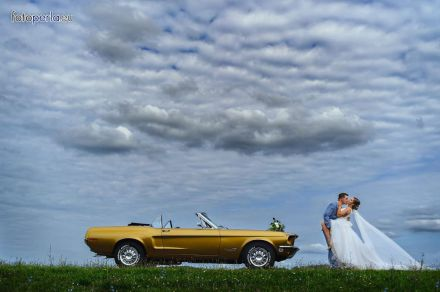 Mustang 68 cabrio - złoty - Rybnik - śląskie