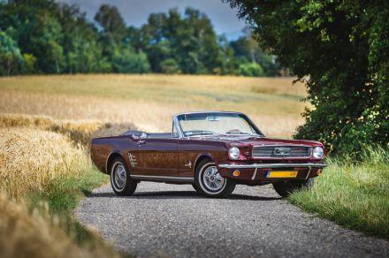 Mustang `66 Cabrio - wisniowy - Twoje auto na ślub - Wodzisław Śląski - śląskie