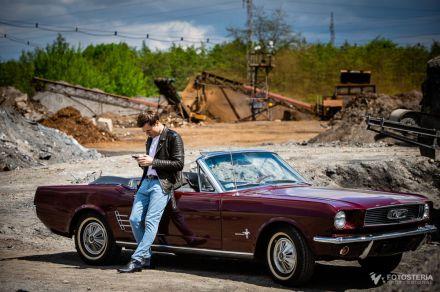Ford Mustang 66 Cabrio `66 - Samochód na specjalne okazje - Żory - śląskie
