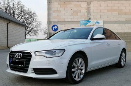Auto na ślub białe Audi A6C7 2014r 2.0 benzyna, limuzyna. Wolne terminy 2020rok  -  Jabłonna  -  lubelskie