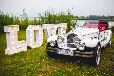 Piękne i stylowe Auto Retro kabriolet do ślubu  -  Darłowo  -  zachodniopomorskie