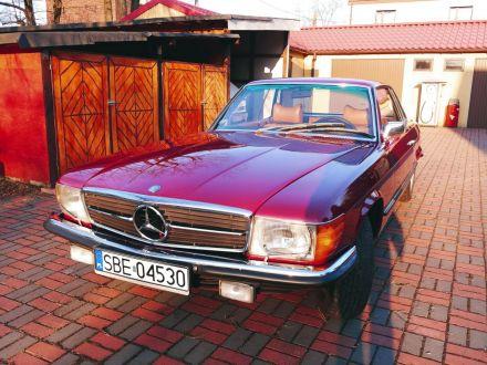 klasyczny Mercedes-Benz SLC 350 - auto na ślub - Śląskie - Czeladź - Czeladź - śląskie