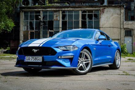 Wynajem Ford Mustang GT 5.0 V8 450KM - Gdańsk - pomorskie