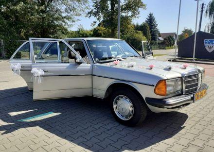 Legendarny Mercedes W123  -  Wrocław  -  dolnośląskie