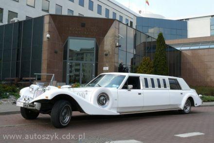 Auta do ślubu,samochody zabytkowe,wynajem,excalibur,chrysler limo  -  Warszawa  -  mazowieckie