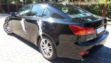 Reprezentacyjny, czarny Lexus IS 250 do ślubu  -  Jastrzębie-Zdrój  -  śląskie
