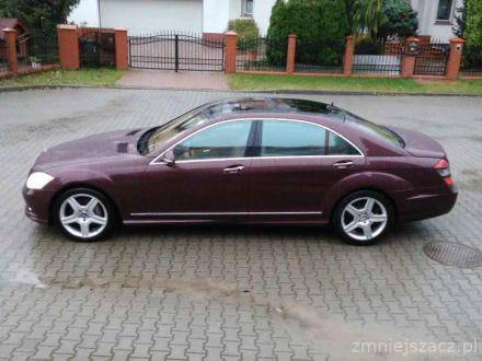LIMUZYNA Mercedes-Benz S klasa z Kierowcą- do ŚLUBU i na inne IMPREZY - Gorzów Wielkopolski - lubuskie