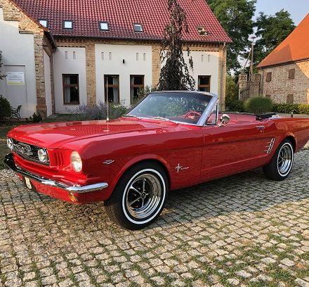 Ford Mustang - Auto do ślubu - Wielkopolska, Kujawsko-Pomorskie, Zachodniopomorskie, Lubuskie  -  Poznań  -  wielkopolskie