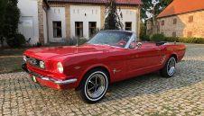 Ford Mustang - Auto do ślubu - Wielkopolska, Kujawsko-Pomorskie, Zachodniopomorskie, Lubuskie